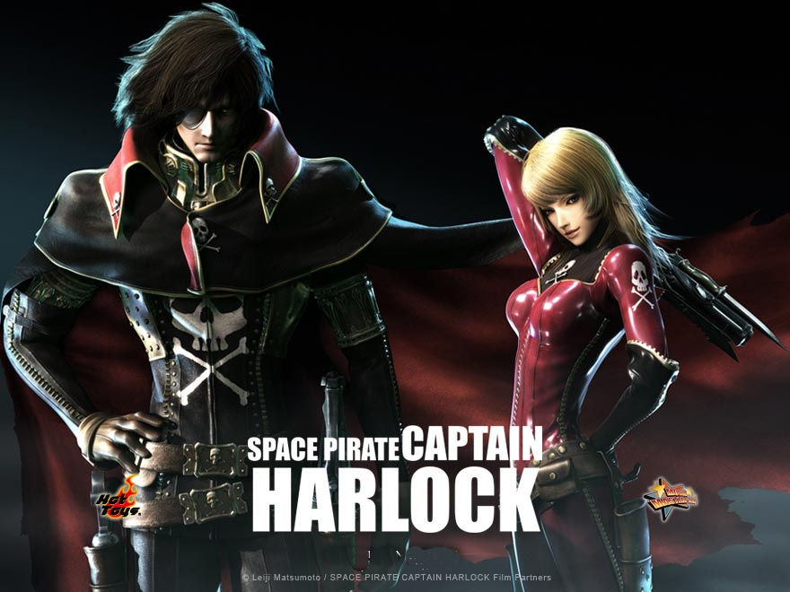 انیمیشن Space Pirate Captain Harlock